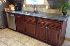 cabinet, countertops, backsplash